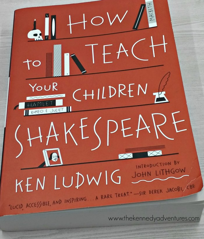Want to teach Shakespeare in your homeschool? Start here.