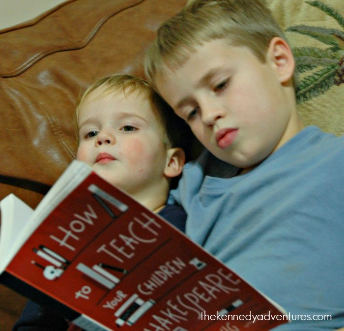 Need help introducing the boys in your homeschool to Shakespeare? Start here.