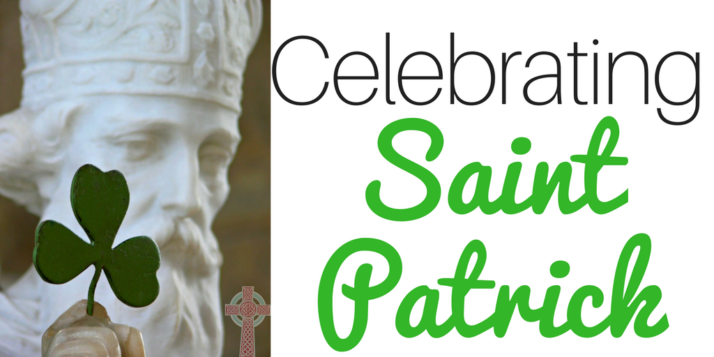 Looking for ways to celebrate Saint Patrick in your home? These ideas (books, crafts, recipes, activities and more) are perfect for Catholic families, co-ops, or religious education classes.