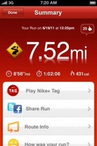 Nike Plus for iPhone