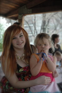 my girls Rachel Kennedy and Abigail Mattingly