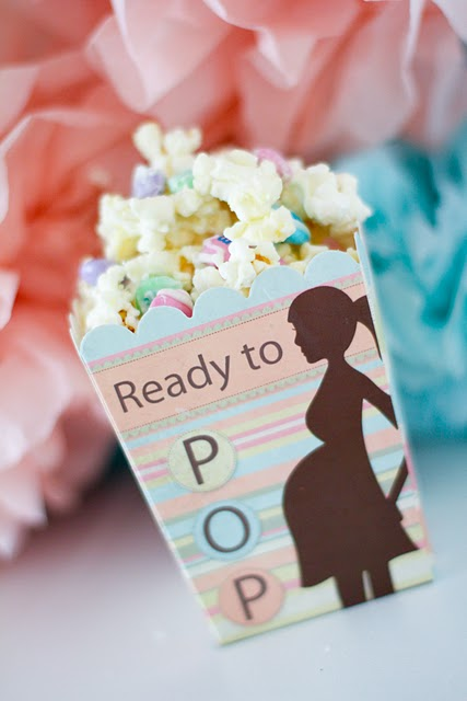 popcorn favor for baby shower