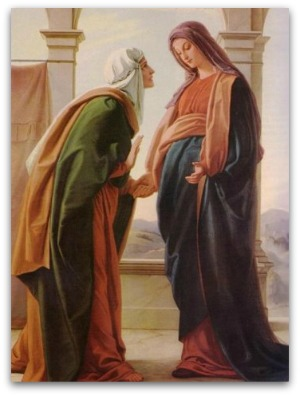 visitation of Elizabeth by the Virgin Mary