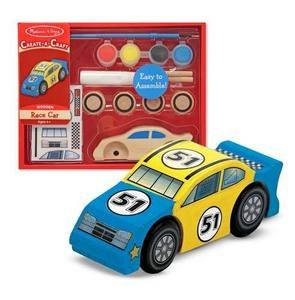 Melissa and Doug decorate your own race car