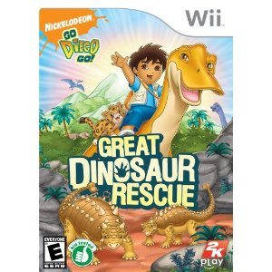 Diego Great Dinosaur Rescue Wii