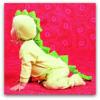 easy dinosaur costume