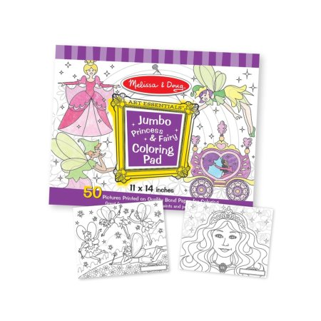fairy coloring pad