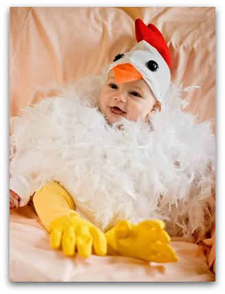 DIY chicken costume  sc 1 st  The Kennedy Adventures! & DIY Halloween costumes for the Whole Family - The Kennedy Adventures!