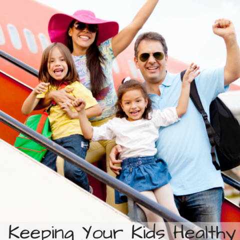 Keeping kids healthy while traveling #biogaia