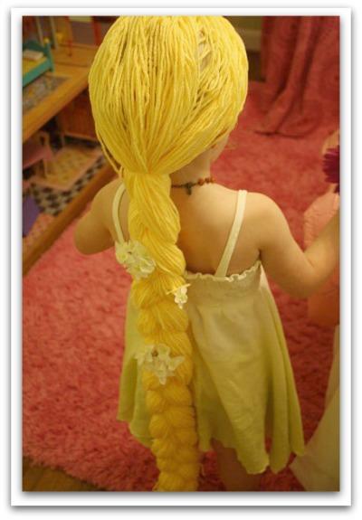 DIY Rapunzel costume