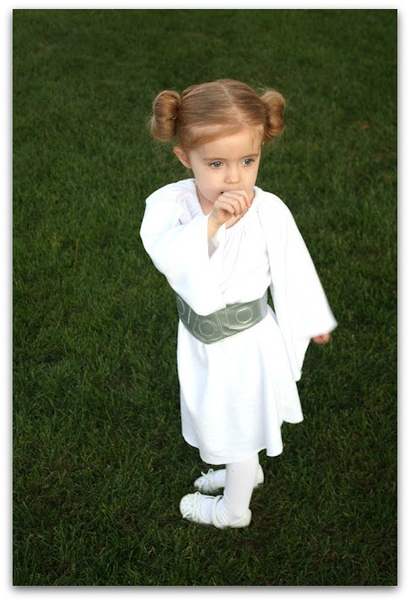 easy princess leia costume