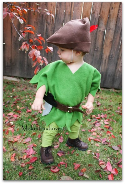 easy peter pan costume