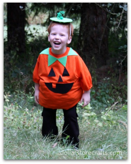 Diy halloween costumes for the whole family the kennedy adventures diy pumpkin costume solutioingenieria Images