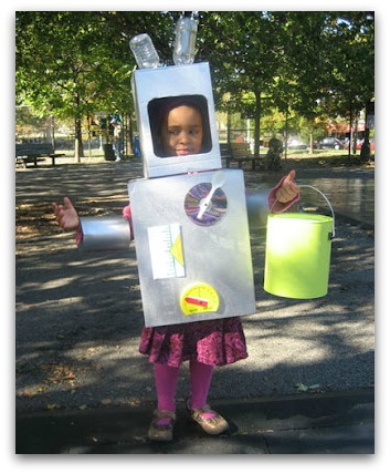 DIY robot costume  sc 1 st  The Kennedy Adventures! & DIY Halloween costumes for the Whole Family - The Kennedy Adventures!