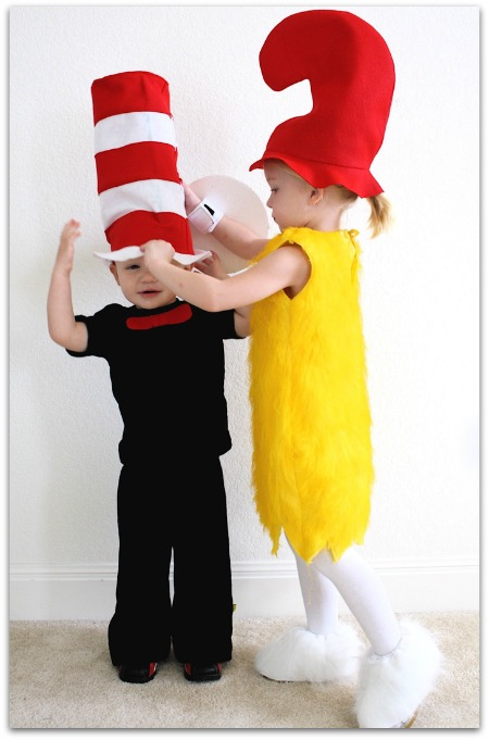 DIY Dr Suess Costumes
