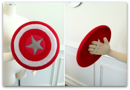 DIY superhero shield