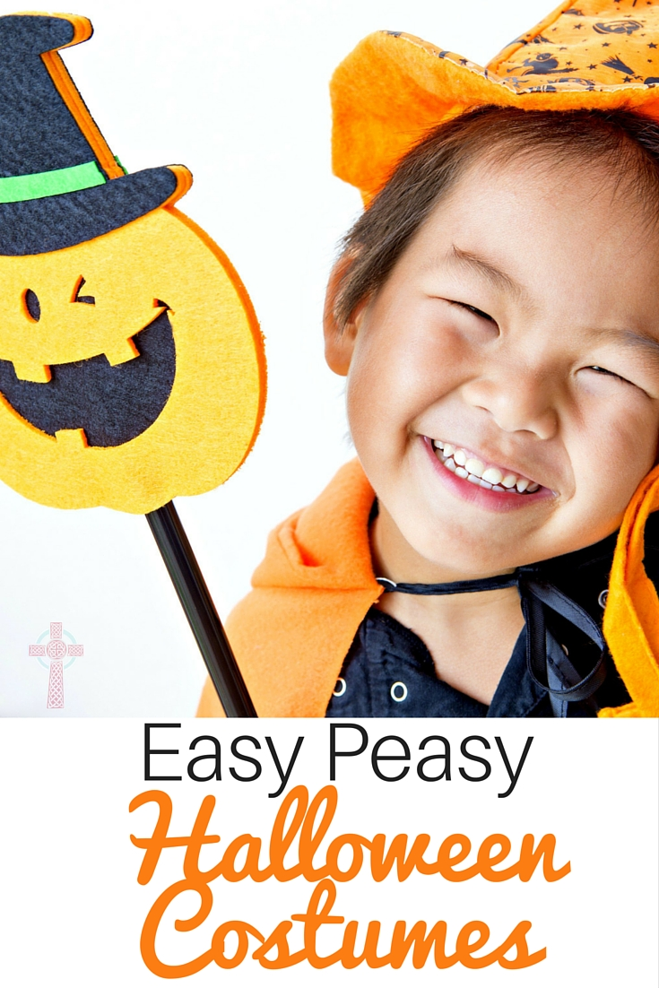 Easy Peasy And Fun: DIY Halloween Costumes For The Whole Family