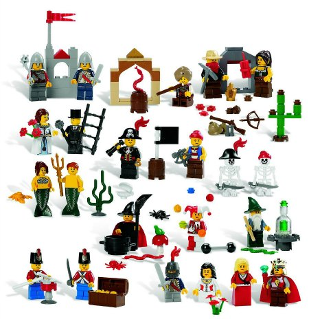 LEGO fairytale set gifts for preschool boys