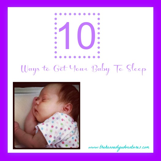 tips for getting baby to sleep