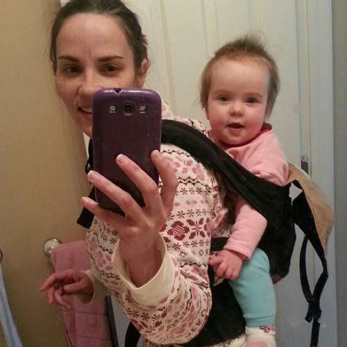how to put on ergo baby carrier back carry