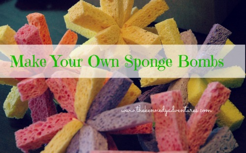 Make your own sponge bomb