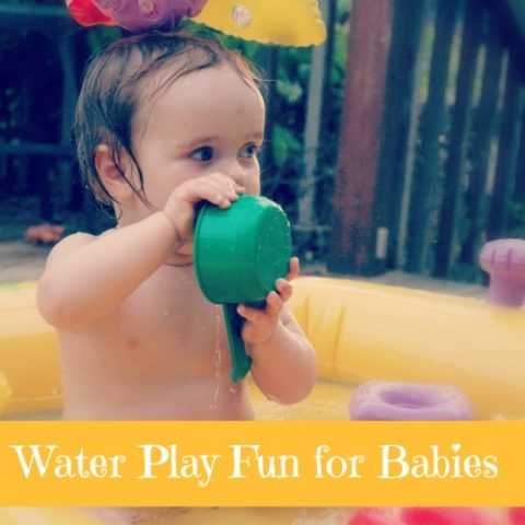 water play for babies and toddlers