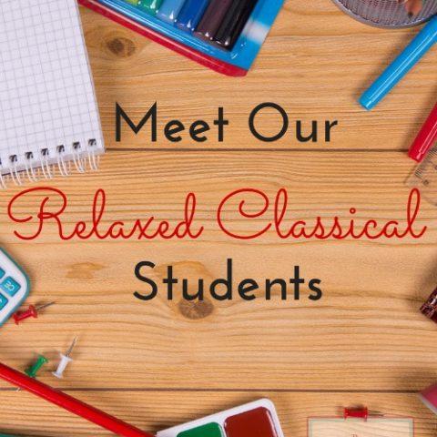 relaxed classical homeschool