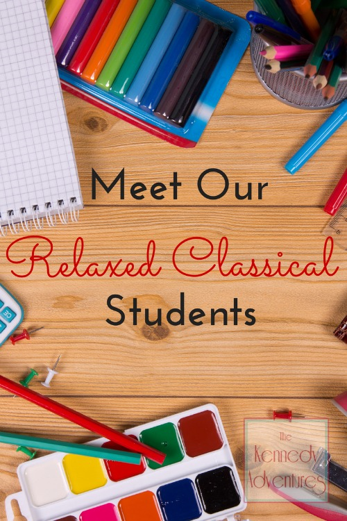 relaxed classical homeschool
