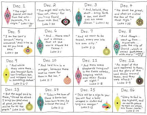 Advent bible study ideas