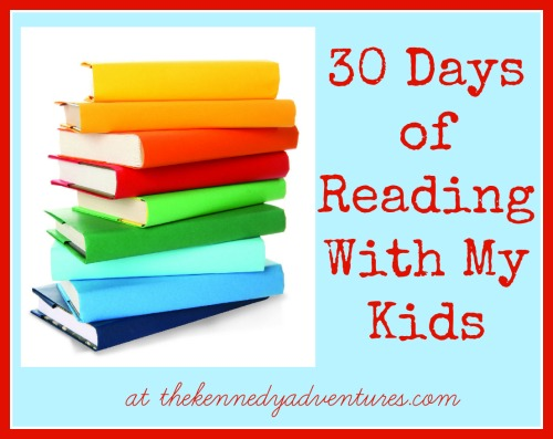 30 days of reading with children