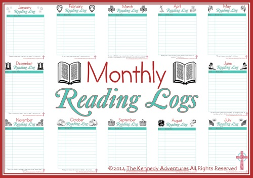 free printable reading logs 30 days of reading with my kids the