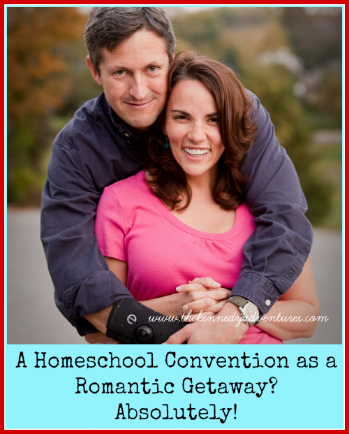 attending a homeschool convention as a romantic getaway
