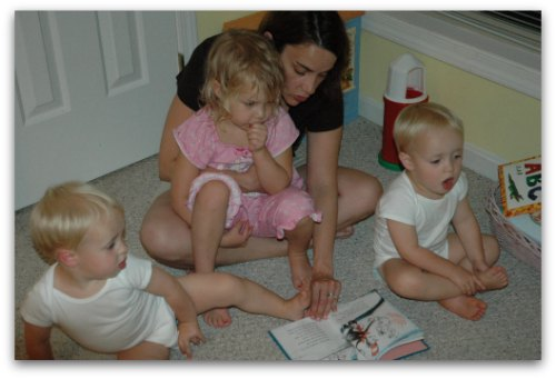 reading with the littles