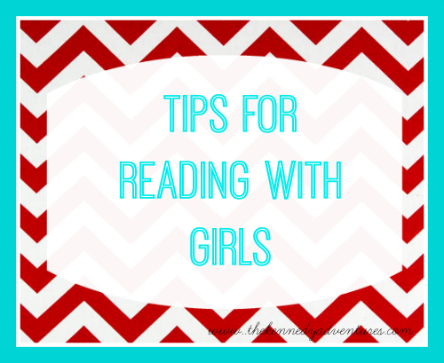 tips for reading with girls