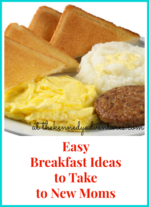 Easy Breakfast Ideas to Take to New Moms