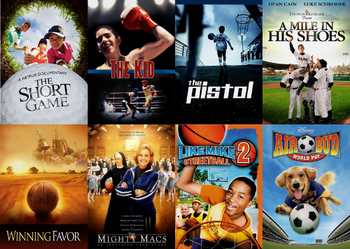 olympic themed movies