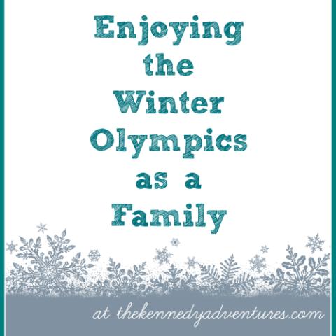 enjoying the winter olympics