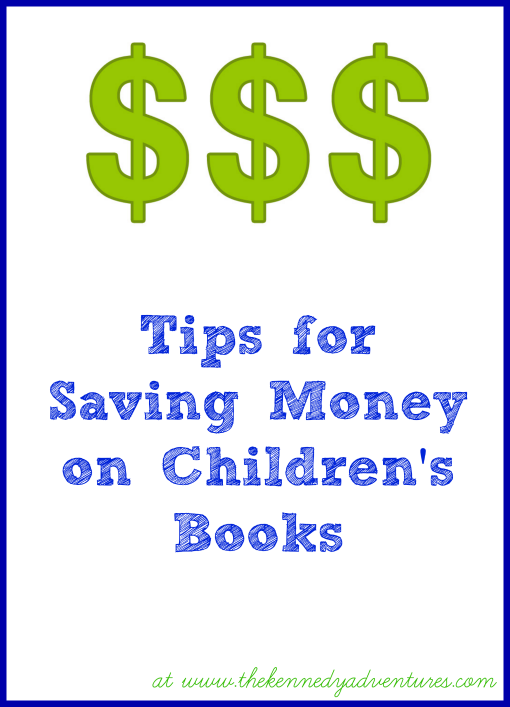 saving money on childrens books