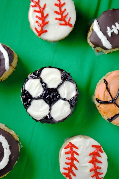 olympic themed cupcakes