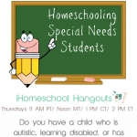 Homeschooling Special Needs Students