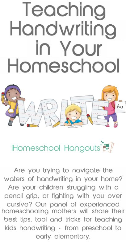 Teaching Handwriting in Your Homeschool