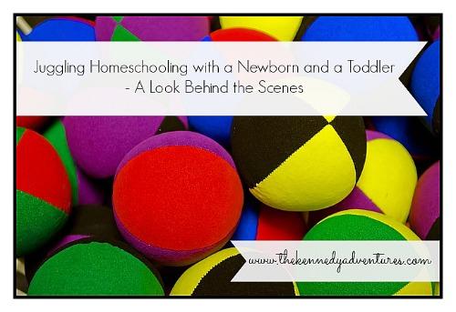 juggling homeschooling