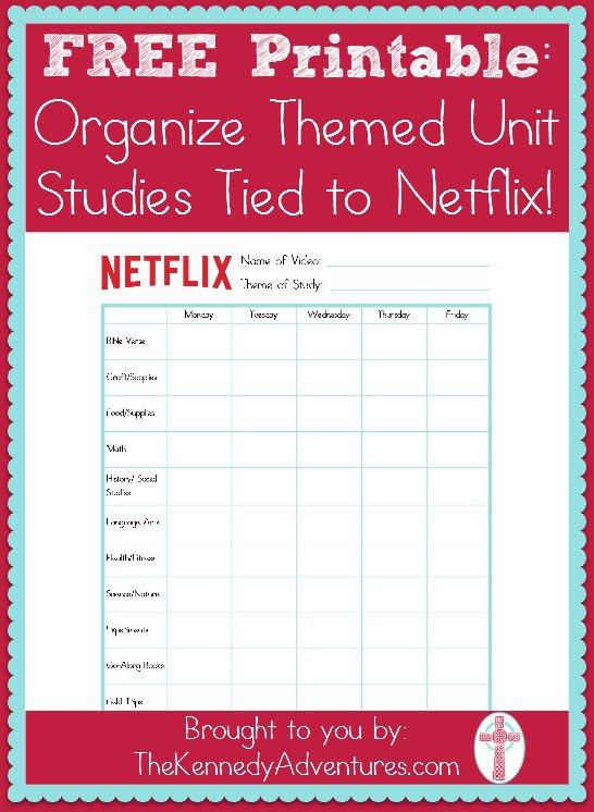 Organize netflix