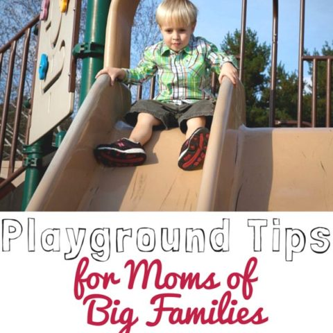 Playground Tips for Moms of Big Families #ValPakSaves