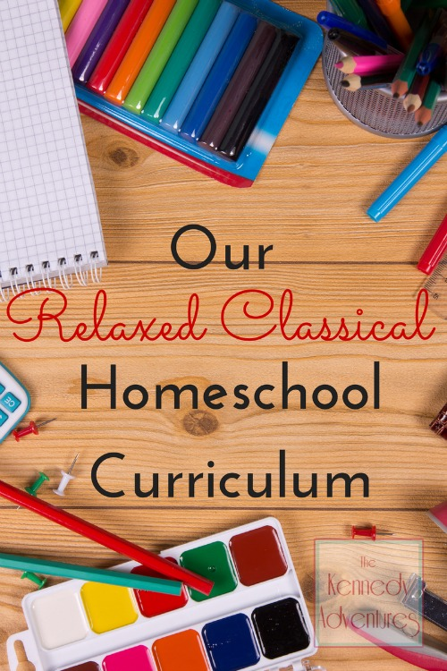 Our Relaxed Classical Homeschool Curriculum 2014/15