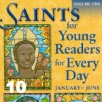 Saints books for Catholic children