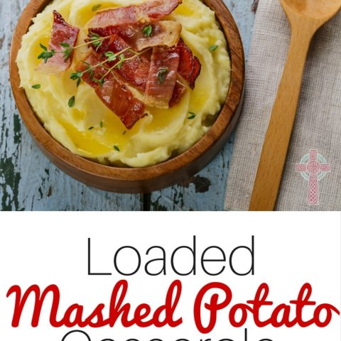 Try this Loaded Mashed Potato Casserole at your next family gathering! It's delicious!
