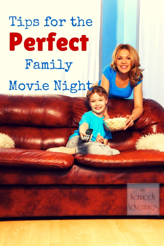 Tips For Planning The Perfect Family Movie Night At Home