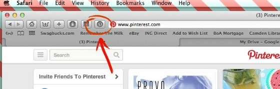 pinterest browser extension