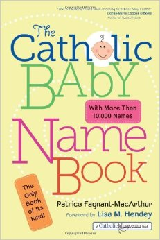 Catholic baby names
